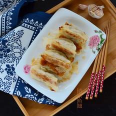 西葫羊肉锅贴的做法[图]