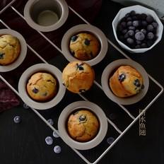 爆浆蓝莓香蕉麦芬