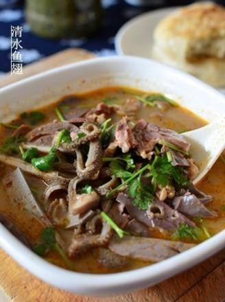 天津风味羊汤的做法