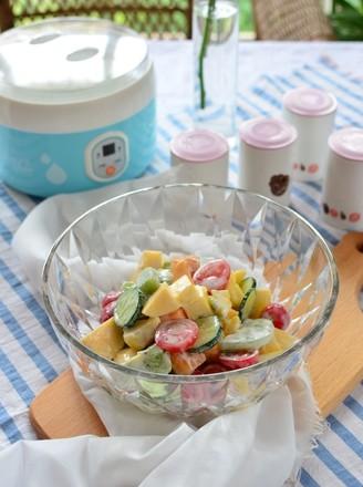 酸奶果蔬沙拉的做法