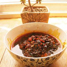 香辣豆豉脂渣酱