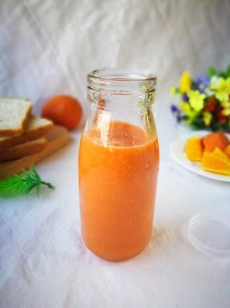 胡萝卜橙子草莓汁的做法