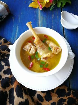 红参鸡汤的做法