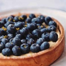 蓝莓芝士柠檬塔