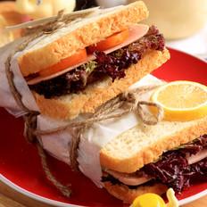 三明治怎么烧