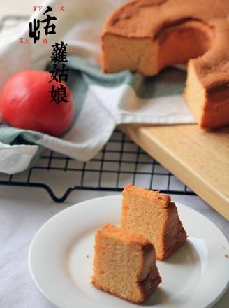 番茄酱戚风蛋糕