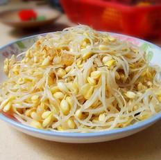 清炒黄豆芽