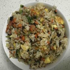 什锦炒米饭