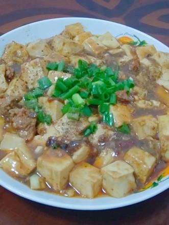 川味家常焖豆腐的做法