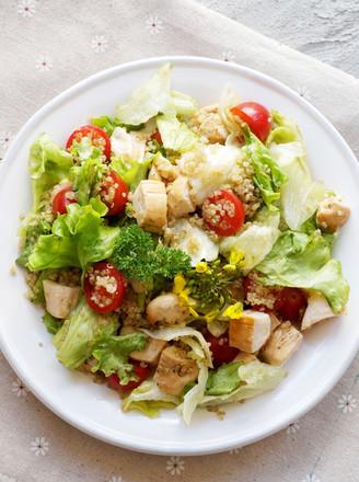 丘比-藜麦鸡肉沙拉的做法