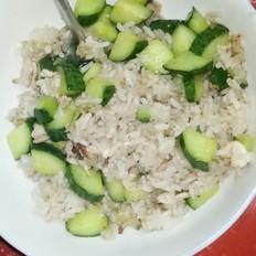 黄瓜肉丝炒饭