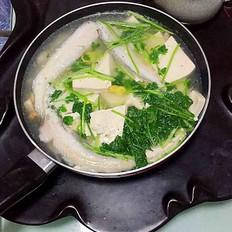 九肚鱼豆腐汤