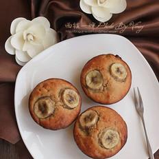 素食香蕉小蛋糕