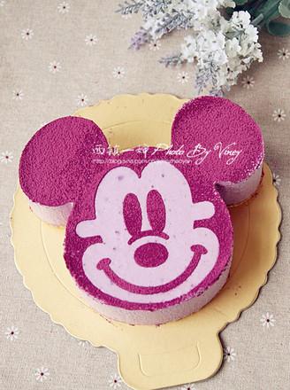米奇紫薯慕斯蛋糕