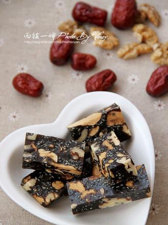 核桃红枣阿胶糕的做法