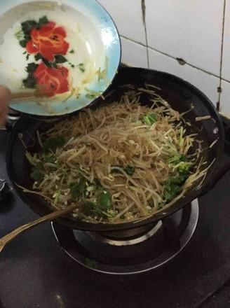 豆芽粉条土豆丝的做法
