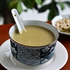 绿豆薏米豆浆