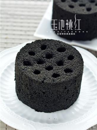 黑暗料理煤球蛋糕