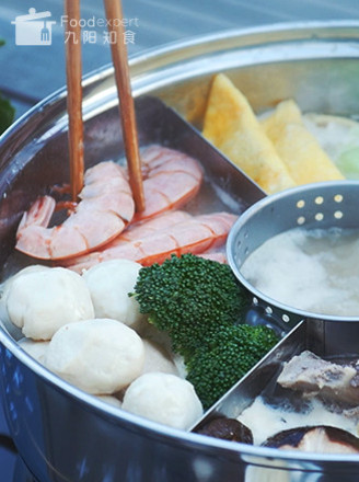 冬日骨汤火锅的做法