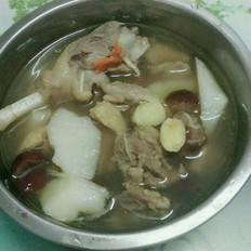 当归山药鸭肉汤