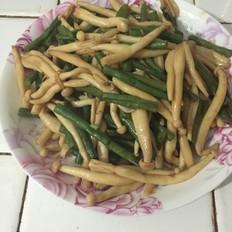 虹豆海鲜菇