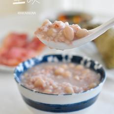 花生藜麦红糙米粥