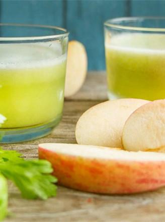 芹菜菠萝苹果汁的做法