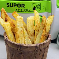 无油孜然薯条#苏泊尔第二季晋级赛#