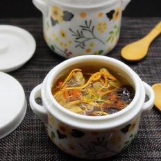 虫草花鸡腿炖汤