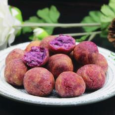 酥脆紫薯丸子