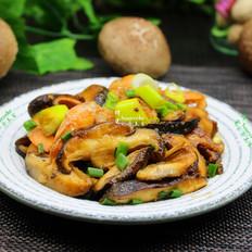 荤素搭配,香菇炒虾仁#晚餐#