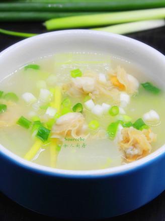 冬瓜扇贝汤的做法