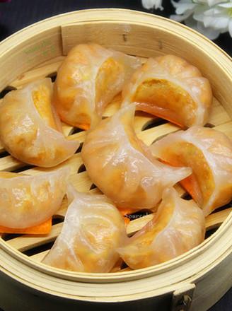 水晶蒸饺的做法
