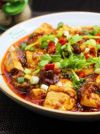 冬天的鲜香麻辣菜,麻婆豆腐的做法