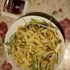 凉拌豆腐丝#丘比沙拉汁#