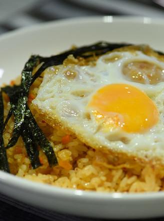 韩国泡菜炒饭的做法