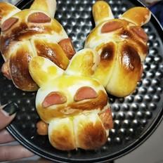简单小兔面包
