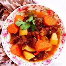 #秋季保胃战#胡萝卜土豆炖牛肉