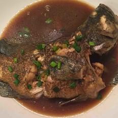 红烧石斑鱼