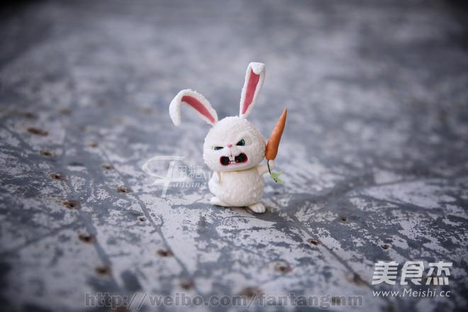 翻糖兔子玩偶制作的做法_家常翻糖兔子玩偶制