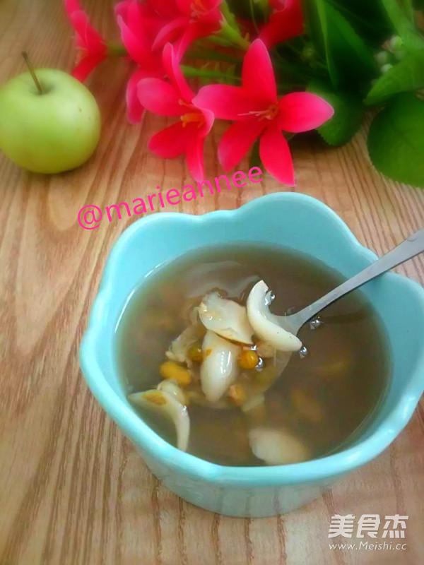 百合百合汤#绿豆宝宝#的孕妇_绿豆家常食谱汤一岁多做法能吃基围虾图片