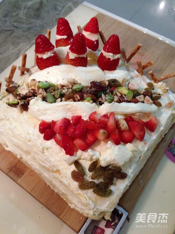 家常咸奶油蛋糕的做法【图】咸