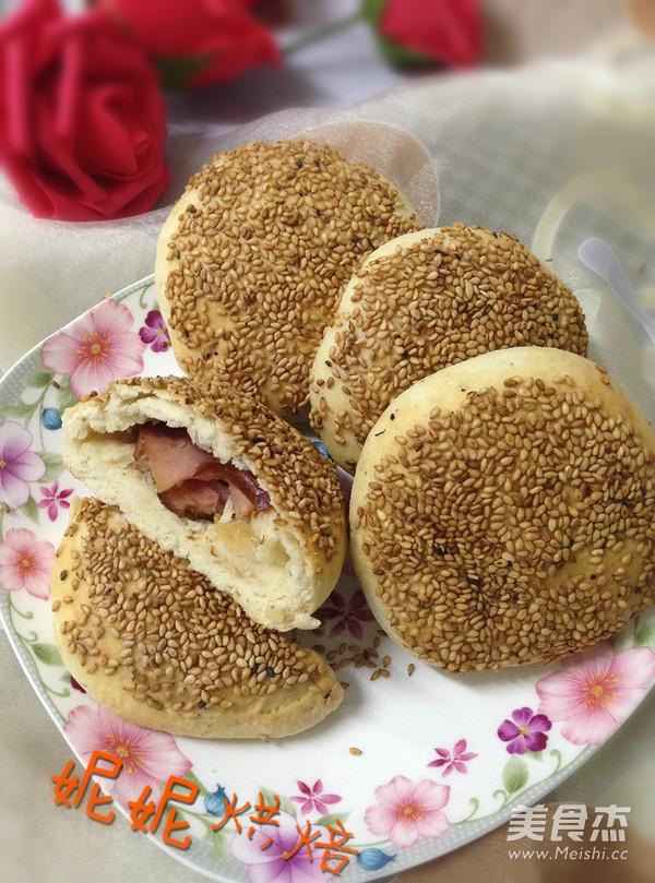 油酥红肠做法的做法_烧饼油酥红肠家常的烧饼腋毛视频粘图片