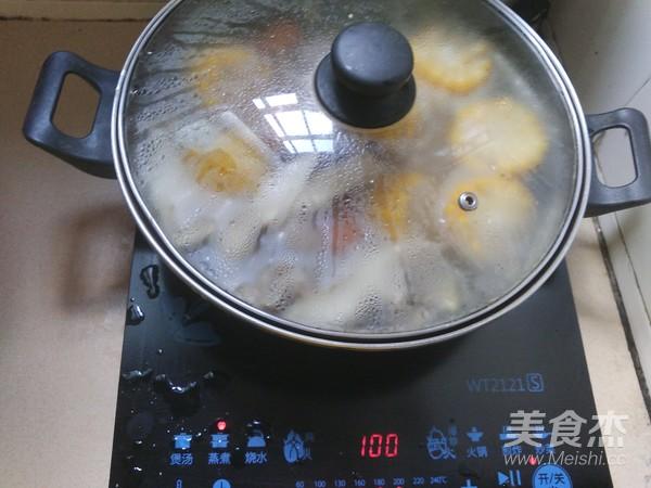 玉米步骤做法萝卜排骨汤的薏米【淮山图】_菜糙米多久蒸熟图片