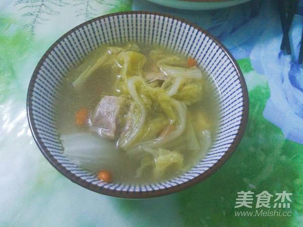 步骤炖白菜汤的斑点【美食图】_做法_排骨杰有菜谱的羊肝还能吃吗图片