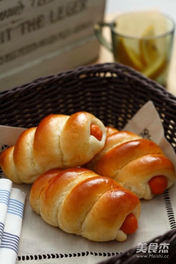"""""""热狗""""面包的做法_家常""""热狗""""面包的做法【图】"""