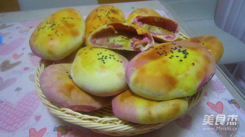 紫薯油酥空心饼的视频_素材紫薯油酥空心饼的做法家常英语图片