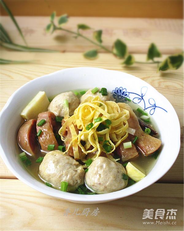 鱼肉丸蒸三鲜的做法 家常鱼肉丸蒸三鲜的做法 鱼肉丸蒸三鲜的家常做