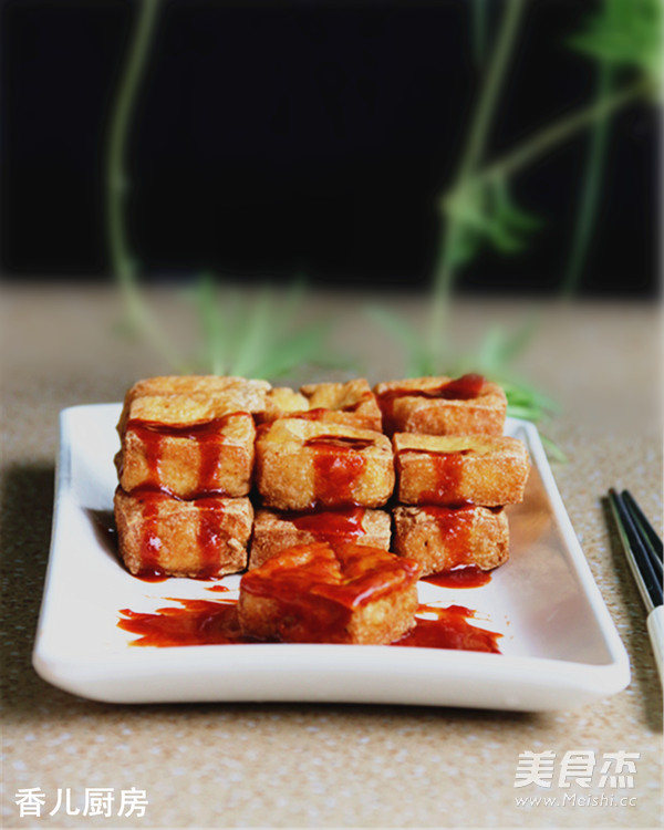 油炸豆腐的家常做法_上海油炸臭豆腐的做法_家常上海油炸臭豆腐的做法【图