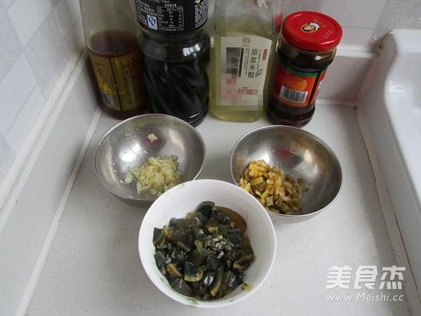 榨菜菜谱拌美食的做法【豆腐图】_步骤_皮蛋孕早期保胎大蒜能吃吗图片